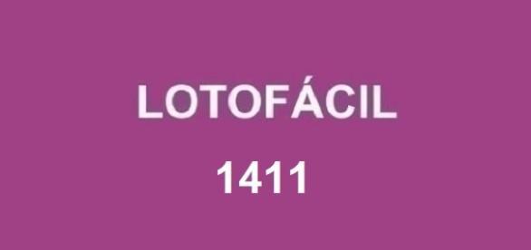 Resultado da Lotofácil 1411 - Divulgação em 14/09