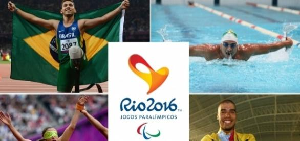 Atletas da Paraolímpiada são exemplo de superação (Foto: Reprodução)