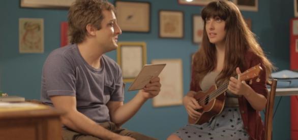 """""""Das dez músicas que mais gosto, sete foi ela que me mostrou."""""""