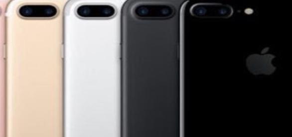 Nuevo iPhone 7, disponible en 5 colores.