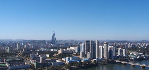 Pyongyang, capital e maior centro comercial da Coreia do Norte