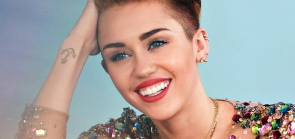 Us-Amerikanische Pop-Star Miley Cyrus