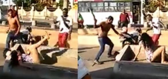 Homens atacaram travestis e vídeo vazou