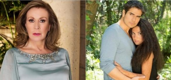 Lorena não aceita que Paulo troque a família por Esmeralda.