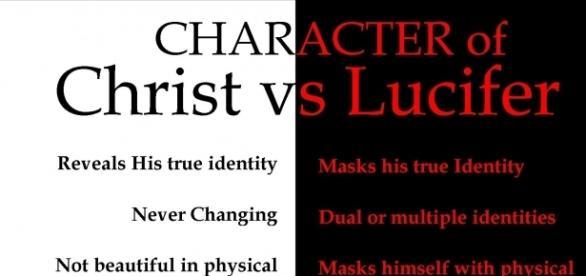 Porównanie Boga i Lucyfera, gdzie pasuje Mahomet?