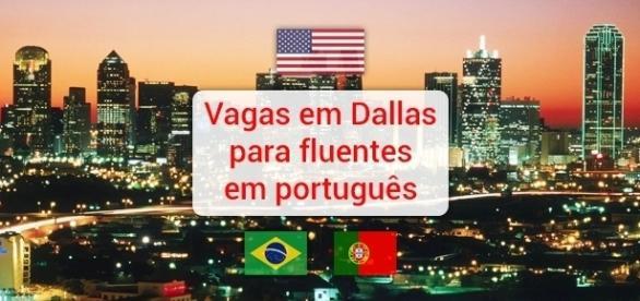 Vagas em Dallas para fluentes em português - Foto: Reprodução Ryylxjw
