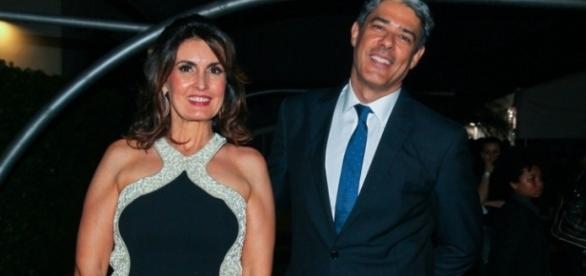Fátima Bernardes quer rapidamente ultrapassar o polêmico divórcio