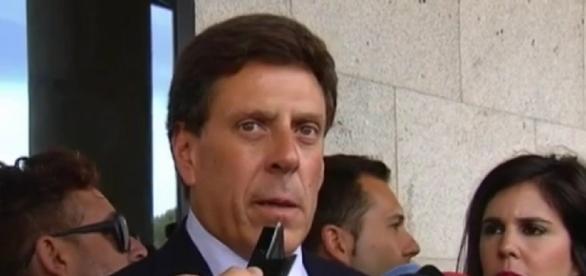 Juan Carlos Quer a la salida de los Juzgados