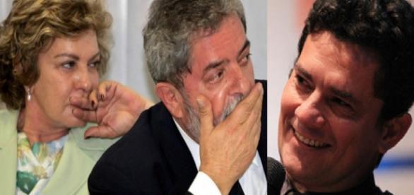Marisa Letícia, Lula e Sérgio Moro - Google