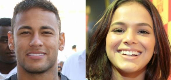 Neymar está se empenhando em reconquistar a sua ex