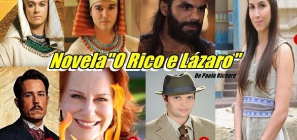 """Novos nomes são divulgados para o elenco de """"O Rico e Lázaro"""""""