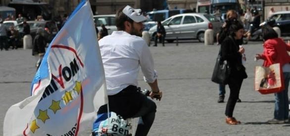 Uno dei leader del M5S, Alessandro Di Battista