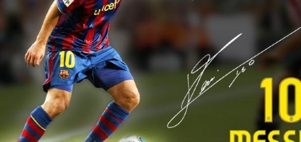 Lionel Messi, el mejor jugador del mundo