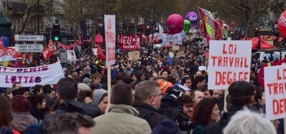 Loi travail manifestation - CC BY