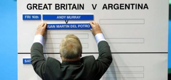 Murray-Del Potro, el primer partido del viernes