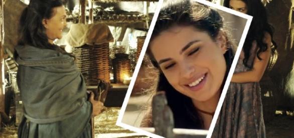 Adara convence Aruna a fugir com ela