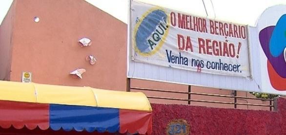 Creche onde duas crianças foram esfaqueadas em Belo Horizonte.