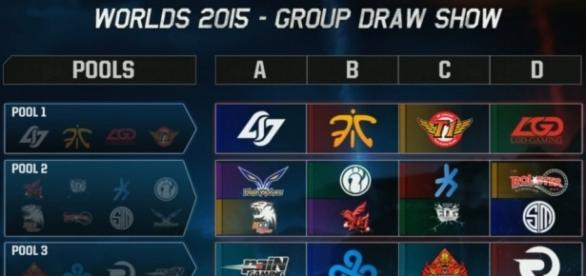 Escogidos los grupos para el Campeonato Mundial 2015 de League of ... - gomultiplayer.com