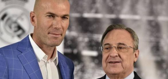 Florentino quiere que Zidane continué en el Madrid – La Red - com.gt