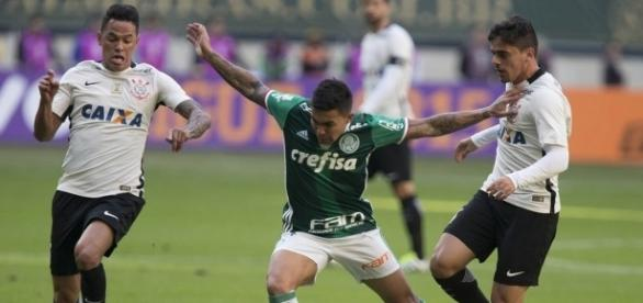 No primeiro turno, ainda com Tite no comando, o Palmeiras venceu por 1 a 0 jogando no Allianz Parque