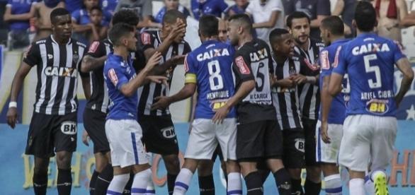 Pelo Brasileirão, jogo Atlético e Cruzeiro no Mineirão