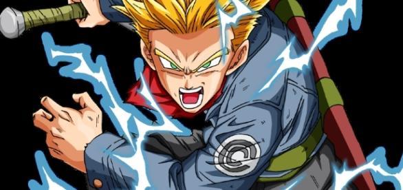 Trunks del futuro en Super Saiyajin 2
