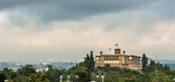 El castillo de Chapultepec, único castillo de toda América.