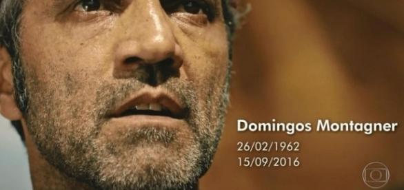 Homenagem do Jornal Nacional a Domingos Montagner