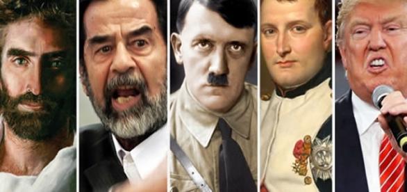 Jesus Cristo, Saddam Hussein, Hitler, Napoleão Bonaparte e Trump estão na lista dos políticos mais psicopatas de todo os tempos