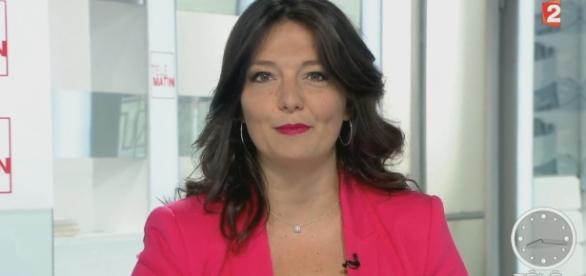 La chroniqueuse de Télématin Carinne Teyssandier