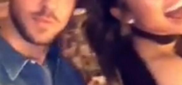 Calvin Harris et Jennifer Lopez à la soirée d'anniversaire