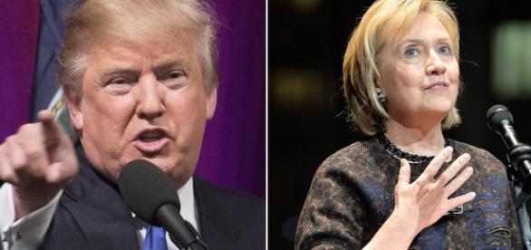 Donald Trump v Hillary Clinton: Presidential hopefuls' rallies ... - mirror.co.uk