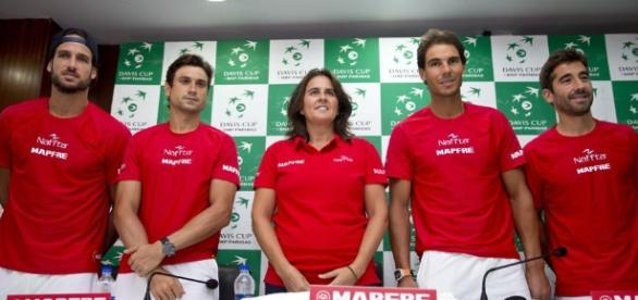 España vuelve al Grupo Mundial-2017