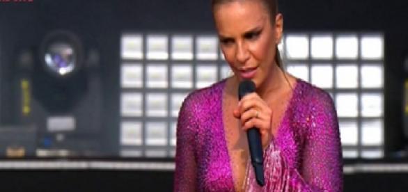 Ivete Sangalo deu bronca em mulher grávida