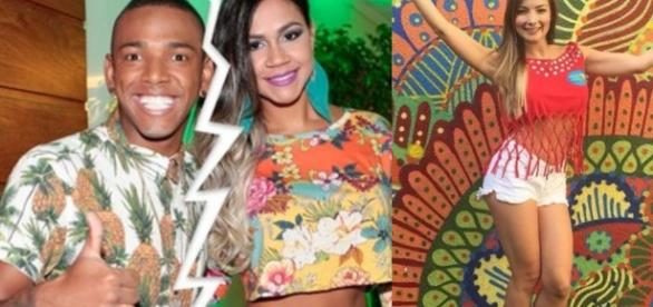 MC Nego do Borel e ex-companheeira