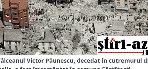 Sur la zone du séisme d'Amatrice, de nombreux immeubles présumés antisismiques, du fait de malfaçons, se sont effondrés