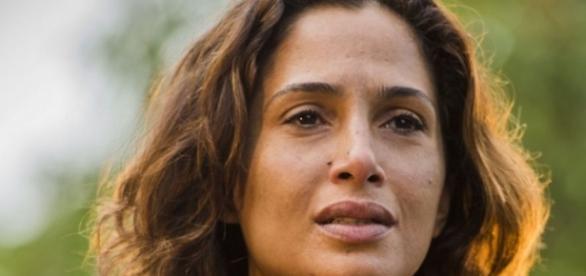 A actriz viu o actor com quem contracenava morrer