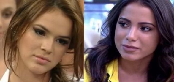 Bruna Marquezine e Anitta - Foto/Reprodução