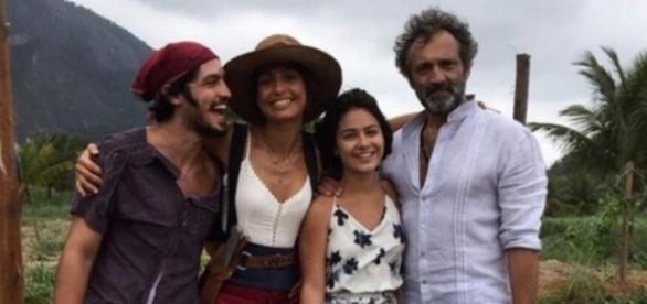Camila Pitanga e Domingos Montagner - Foto/Globo