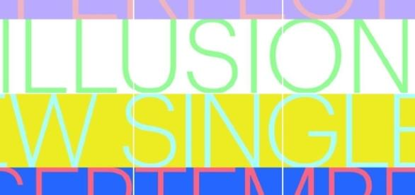 Capa do novo single da cantora