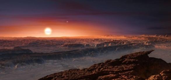 Cientistas descobrem um planeta parecido com a Terra.