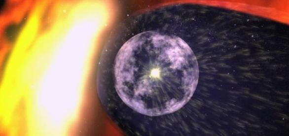 Imagem de objeto maior que o nosso sol