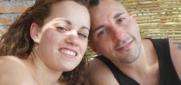 Ana Huete en una fotografía con su pareja