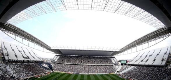Arena Corinthians em espera de um patrocinador