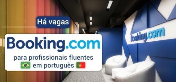 Booking.com está recrutando profissionais fluentes em português - Foto: Reprodução Stephengeorge