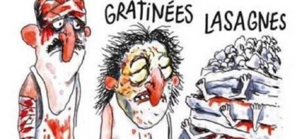 El dibujo de 'Charlie Hebdo' sobre el terremoto italiano que ha indignado al país de Giuseppe Verdi.