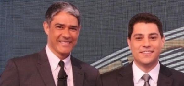 Evaristo Costa poderá substituir Bonner no 'Jornal Nacional'