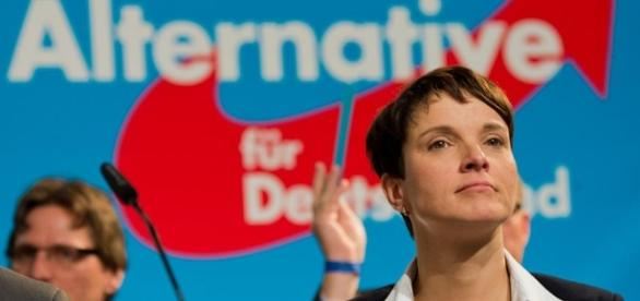 Frauke Petry, leader del partito Alternative fur Deutschland (Afd)