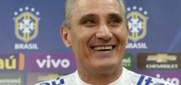 Tite no comando da seleção brasileira