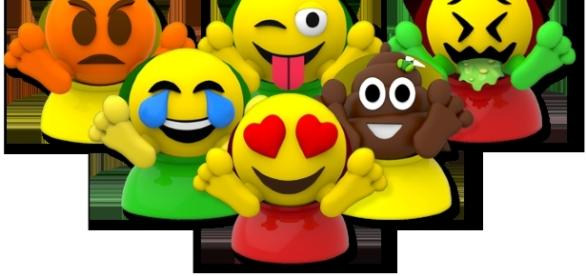 Toys in the 'Emojiez' line are all inspired by emoji characters. / Photo via Jill Tryansky, ChizComm PR. Used with permission.